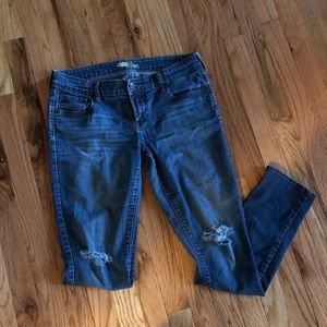 Old Navy Diva skinny distressed Sz 6 jeans